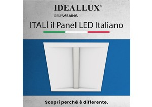 Gruppo Raina presenta ITALI', il panel led 100% Made in Italy